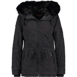 Płaszcze damskie pastelowe: khujo SONTJE Krótki płaszcz charcoal