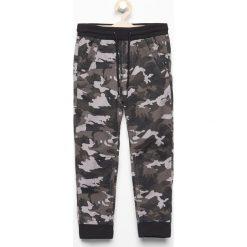 Odzież chłopięca: Spodnie jogger moro - Szary