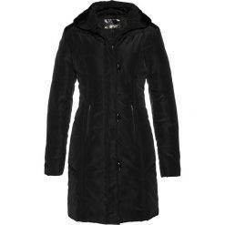 Płaszcz pikowany bonprix czarny. Czarne płaszcze damskie bonprix. Za 179,99 zł.