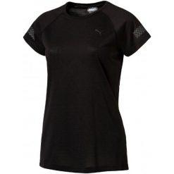 Puma Koszulka Sportowa Nightcat Ss Tee W Black Xs. Czarne topy sportowe damskie marki Puma, s, z materiału. W wyprzedaży za 129,00 zł.