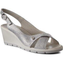 Rzymianki damskie: Sandały IMAC – 72510 Silver/Grey 16091/018