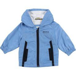 Kurtki chłopięce przeciwdeszczowe: BOSS Kidswear LAYETTE WINDJACKE  Kurtka wiosenna himmelblau