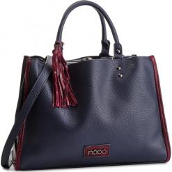 Torebka NOBO - NBAG-F0640-C013 Granatowy. Niebieskie torebki klasyczne damskie marki Nobo, ze skóry ekologicznej. W wyprzedaży za 159,00 zł.