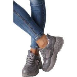 Szare buty sportowe sneakersy sznurowane Casu 7-K591B. Szare buty sportowe damskie Casu. Za 69,99 zł.