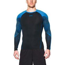 Under Armour Koszulka męska Exclusive Compression czarno-niebieska r. M (1271346-001). Szare t-shirty męskie marki Under Armour, z elastanu, sportowe. Za 135,53 zł.
