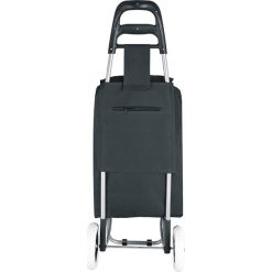 """Shopper bag damskie: Torba """"Clichy"""" w kolorze czarnym na zakupy – 35 x 95 x 28 cm"""