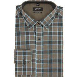 Koszula bexley 2287 długi rękaw custom fit brąz. Szare koszule męskie marki Recman, na lato, l, w kratkę, button down, z krótkim rękawem. Za 69,99 zł.