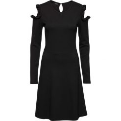 Sukienki: Sukienka z wycięciami na ramionach bonprix czarny