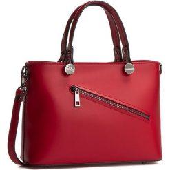 Torebka CREOLE - K10222 Czerwony. Czerwone torebki klasyczne damskie marki Reserved, duże. W wyprzedaży za 209,00 zł.
