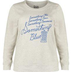 Bluzy damskie: Doctor Who Something Blue Bluza damska odcienie beżowego