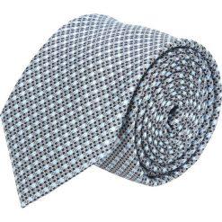 Krawat platinum szary classic 222. Szare krawaty męskie Recman. Za 49,00 zł.
