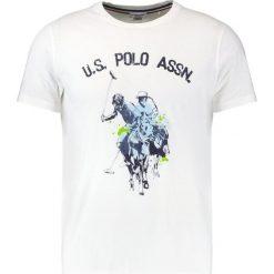 Koszulki polo: U.S. Polo Assn. LOGO DOUBLE HORSE Tshirt z nadrukiem white