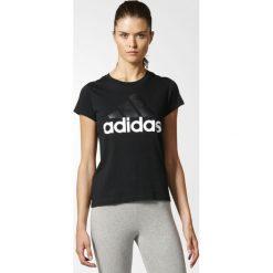 Topy sportowe damskie: Adidas Koszulka damska T-shirt czarna r. M (B45786)