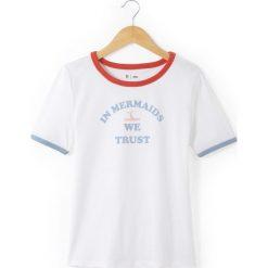 Bluzki dziewczęce: Koszulka z okrągłym dekoltem z nadrukiem 10-16 lat