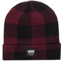 Czapka VANS - Mte Cuff Beanie VN0A3HJ95U8 Port Royale/Bla. Czarne czapki męskie marki Vans, z elastanu. Za 99,00 zł.
