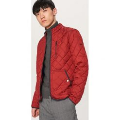 Pikowana kurtka ze stójką - Czerwony. Czerwone kurtki męskie pikowane Reserved, l. Za 119,99 zł.