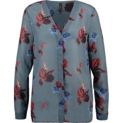 Bluzki asymetryczne: YAS SPENCER Bluzka ombre blue