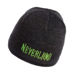 Czapki męskie: NEVERLAND Czapka męska Pure czarno-zielona (P-04-PURE-372-UNI)