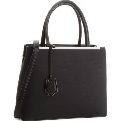 Torebka JENNY FAIRY - RH0670 Black. Czarne torebki klasyczne damskie Jenny Fairy, ze skóry ekologicznej, duże. Za 119,99 zł.