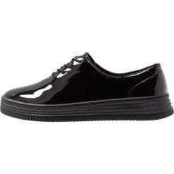Bianco LACED UP CASUAL SHOE Sznurowane obuwie sportowe black. Czarne buty sportowe damskie marki Bianco, z materiału. Za 379,00 zł.