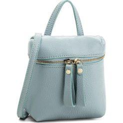 Torebka CREOLE - K10486 Błękitny. Niebieskie torebki klasyczne damskie Creole, ze skóry, duże. Za 129,00 zł.