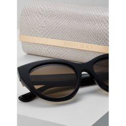 Jimmy Choo CHANA Okulary przeciwsłoneczne black. Czarne okulary przeciwsłoneczne damskie aviatory Jimmy Choo. W wyprzedaży za 991,20 zł.