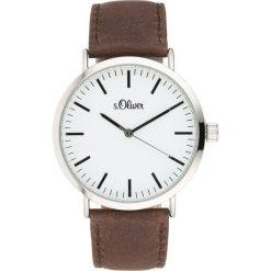 S.Oliver RED LABEL Zegarek silver. Szare zegarki męskie marki s.Oliver RED LABEL. W wyprzedaży za 335,20 zł.