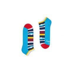 Skarpetki Happy Socks Low Socks Athletic ATINS05-4000. Czerwone skarpetki męskie marki DOMYOS, z elastanu. Za 27,93 zł.