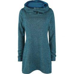 Bluzy rozpinane damskie: Innocent Shasia Top Bluza damska niebieski (Petrol)