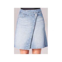 Spódnice krótkie G-Star Raw  ARC WRAP SKIRT. Niebieskie minispódniczki G-Star RAW, retro. Za 399,00 zł.