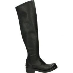 Kozaki - 1412 VIT NERO. Czarne buty zimowe damskie Venezia, ze skóry. Za 419,00 zł.
