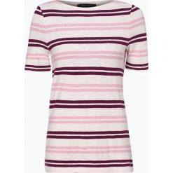 Marc O'Polo - T-shirt damski, różowy. Czerwone t-shirty damskie Marc O'Polo, xs, w paski, polo. Za 99,95 zł.