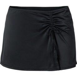 Bikini: Figi bikini + spódniczka kąpielowa (2 części) bonprix czarny
