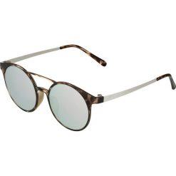 Le Specs DEMO  Okulary przeciwsłoneczne diamond revo mirror. Brązowe okulary przeciwsłoneczne damskie lustrzane Le Specs. Za 279,00 zł.