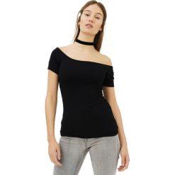 Bluzki, topy, tuniki: T-shirt w kolorze czarnym