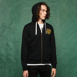 Męska bluza z kapturem Harry Potter - Czarny. Czarne bluzy męskie rozpinane marki Sinsay, l, z kapturem. Za 79,99 zł.