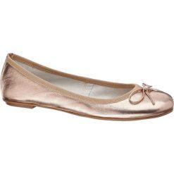 Baleriny damskie lakierowane: baleriny damskie 5th Avenue różowe