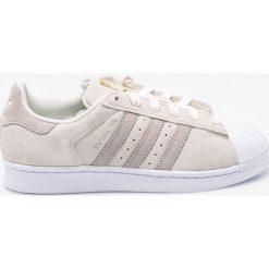 Adidas Originals - Buty Superstar W. Szare buty sportowe damskie marki adidas Originals, z gumy. W wyprzedaży za 319,90 zł.
