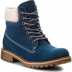 Trapery JENNY FAIRY - WS722-6 Navy. Niebieskie buty zimowe damskie Jenny Fairy, ze skóry ekologicznej. Za 129,99 zł.