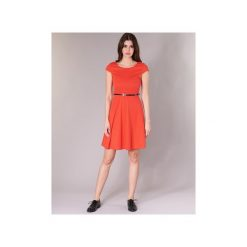 Sukienki krótkie Vero Moda  VMVIGGA. Czerwone sukienki mini Vero Moda, l, z krótkim rękawem. Za 119,20 zł.