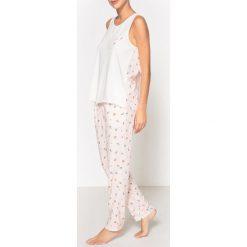 Piżamy damskie: Piżama z nadrukiem