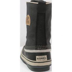Sorel PREMIUM Śniegowce black. Czarne buty zimowe damskie marki Sorel, z materiału. W wyprzedaży za 396,75 zł.