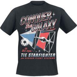 T-shirty męskie z nadrukiem: Star Wars Solo: A Star Wars Story – Conquer The Galaxy T-Shirt czarny