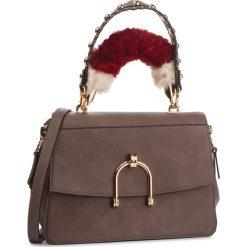 Torebka LIU JO - M Top Handle Cordusi N68116 E0037 Ginger 81306. Brązowe torebki klasyczne damskie Liu Jo, ze skóry ekologicznej, zdobione. Za 689,00 zł.