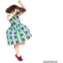 Sukienki dziewczęce z falbanami: sukienka loca