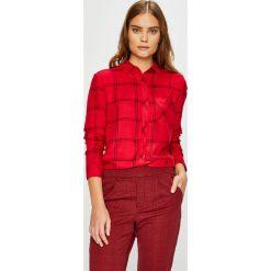 Tally Weijl - Koszula. Różowe koszule damskie TALLY WEIJL, l, w kratkę, z tkaniny, casualowe, z klasycznym kołnierzykiem, z długim rękawem. Za 89,90 zł.