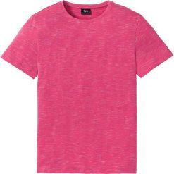 T-shirty męskie: T-shirt Regular Fit bonprix różowy melanż