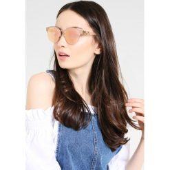 Burberry Okulary przeciwsłoneczne matte pink/gold. Żółte okulary przeciwsłoneczne damskie lenonki Burberry. Za 719,00 zł.