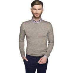 Sweter versa półgolf beż. Szare swetry klasyczne męskie marki Recman, m, z długim rękawem. Za 139,00 zł.