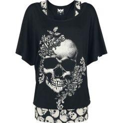 Black Premium by EMP When The Heart Rules The Mind Koszulka damska czarny. Czarne bluzki z odkrytymi ramionami marki Black Premium by EMP, xl, z poliesteru. Za 144,90 zł.